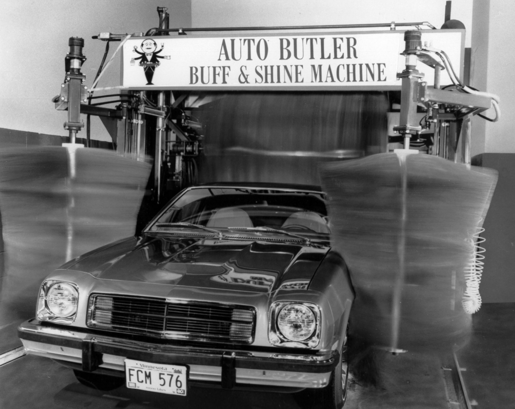 Auto Butler Buff & Shine Machine
